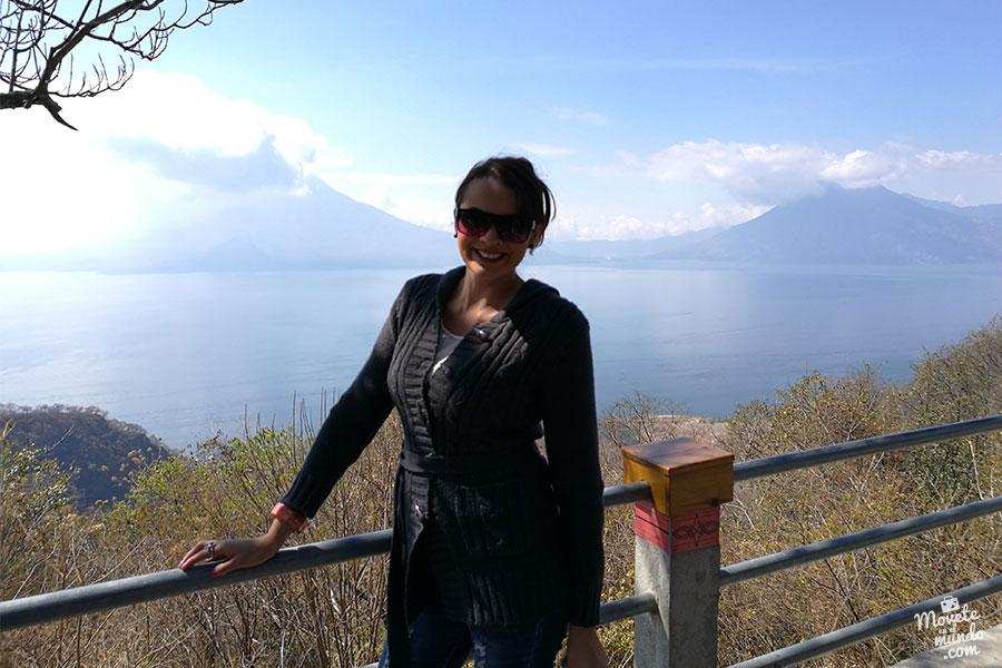 Recorriendo el Lago Atitlán